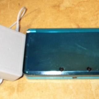 ☆任天堂 NINTENDO 3DS CTR-001 本体 アクア...