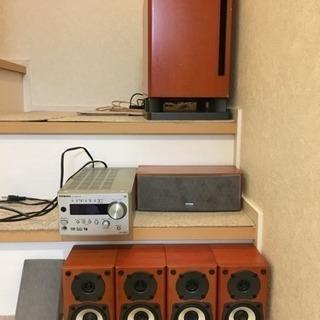 Xmasまで。ONKYO 5.1chサラウンドシステム