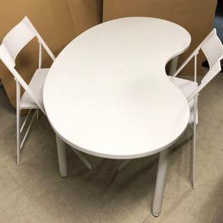 (中古)テーブル+椅子2脚の3点セット 大阪日本橋引取歓迎!