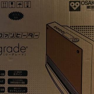 【新品、未使用】ガスファンヒーター Ggrade(ジーグレード)都...