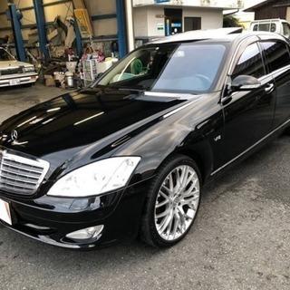 メルセデスベンツ Sクラス 黒 S600ツインターボ