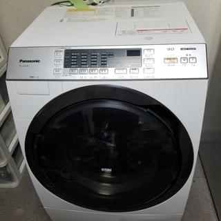 【美品】Panasonic ドラム式洗濯乾燥機 (洗濯9.0kg/...