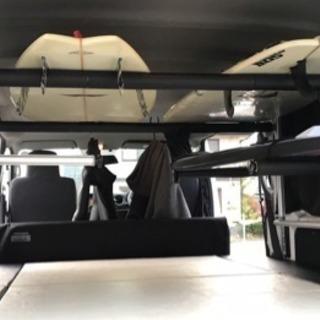 NV350 キャラバン E26 アルミ製サーフボードキャリア 2...