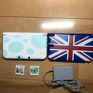 トモダチコレクション使用3DSLL本体箱なし 充電コード・本体カ...
