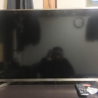 ハイセンス 43V型 液晶 テレビ HJ43N5000とテレビ台