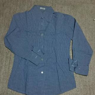 🍒sale🍒青のカッターシャツ