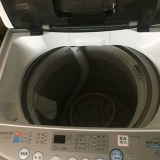 1人暮らし用 の DAEWOO 洗濯機
