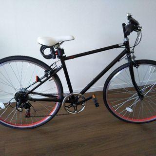 クロスバイク26インチ 6段ギア