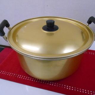 ツルカメ印 金鍋
