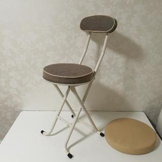 【取引終了】椅子 座面布タイプ