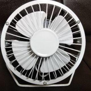 ダイソーUSBミニ扇風機