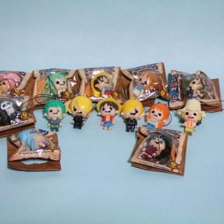 ◆ワンピース ブロックコレクション 14個