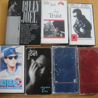 Billy Joel VHSビデオ6本&詩集 セット
