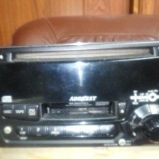 CD&カセット カーコンポ ジャンク品 2点