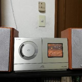 [値下げ]SHARP 高音質CDMDコンポ SD-CX3