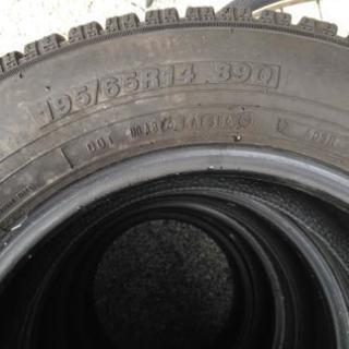 スタッドレス 195 65 r14 タイヤのみ4本