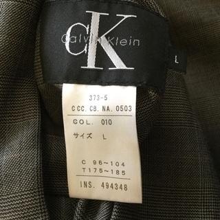 【値下げしました】CalvinKlein メンズ リバーシブルダウンジャケット Lサイズ − 東京都