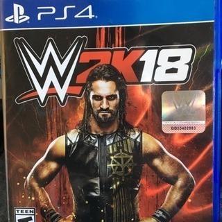 PS4 北米版WWE 2K18