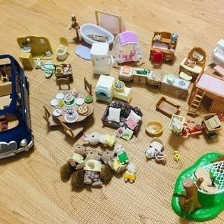 シルバニアファミリー 人形家具セット