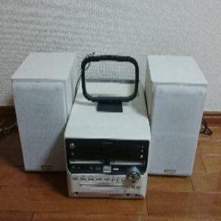 CD/MDコンポ UX-W500 JVC Vector