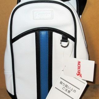☆ダンロップ DUNLOP GGB-S118 SRIXON スリクソン ボディバッグ ホワイト◆ゴルフ等スポーツ時から普段使いまでの画像