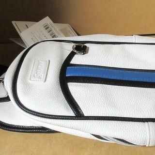 ☆ダンロップ DUNLOP GGB-S118 SRIXON スリクソン ボディバッグ ホワイト◆ゴルフ等スポーツ時から普段使いまで - 売ります・あげます