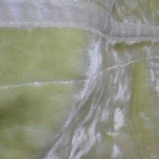 【新品 未使用】二枚重ね アクリル毛布 シングル マスカットグリーン