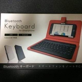 スマートフォン用 Bluetoothキーボード(説明書付き)