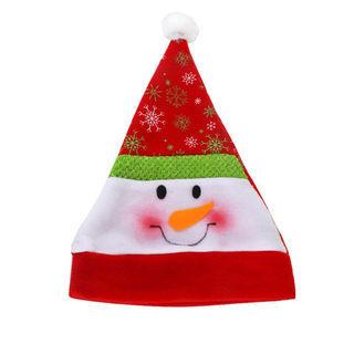 クリスマス子供レッドハット居心地の良いサンタクロースキャップ