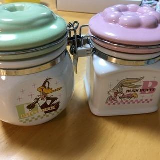 【終了】食器福袋★ バッグス・バニー保存容器と絵皿まとめて8点セット★