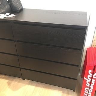 IKEA 4段 タンス 美品