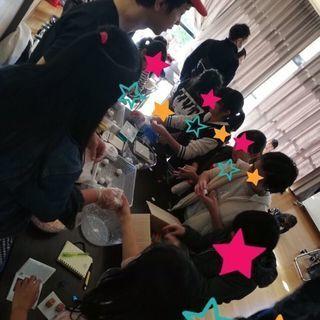 カンボジアの子供達に贈る石鹸作りイベント
