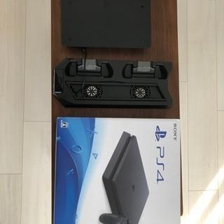 PS4 本体 保証+モンハンソフト付