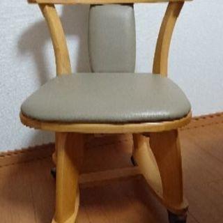 (お話し中です😅)回転式キャスター付き椅子