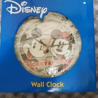 【値下げ】ディズニー ミッキー ミニー 時計 ウォールクロック