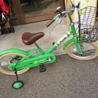 美品 ピープルの自転車 16インチ