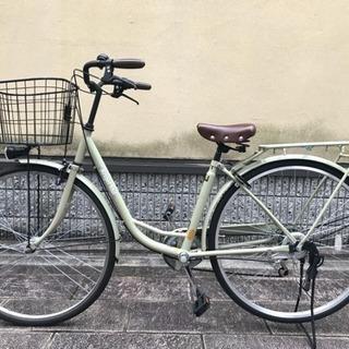【美品】自転車 オートライト 5段階ギア