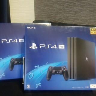 【新品・未開封】最新型 PS4 PRO(CUH-7200B B01...