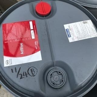 【引き取り限定】プラスチック製ドラム缶200リットル - 岡山市