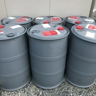 【引き取り限定】プラスチック製ドラム缶200リットルの画像