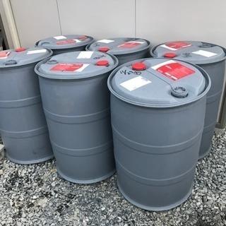 【引き取り限定】プラスチック製ドラム缶200リットル - 売ります・あげます