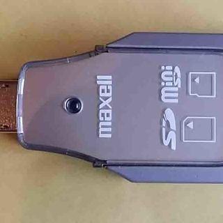 メモリースティックカードリーダーライター  UA20-SD.MI...