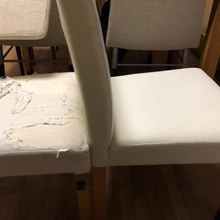 ニトリ食卓椅子4脚