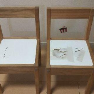 IKEA 子供用椅子