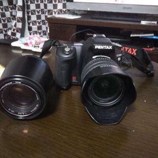 ペンタックス望遠レンズカメラ