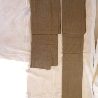 ①紳士 着物・羽織セット 未着用