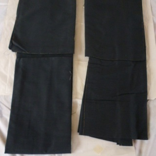 ②紳士 着物・羽織セット 未着用