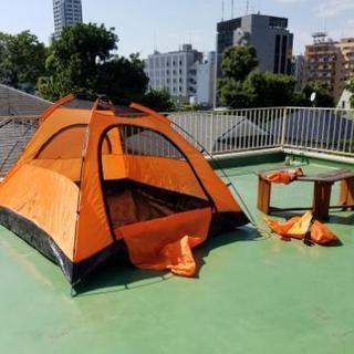 テント(2~3人用)+ガスコンロ