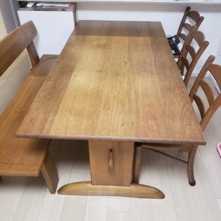 ダイニングテーブル♡イス4脚♡180×90×67♡定価約40万円