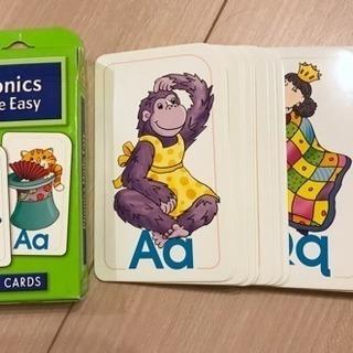 フォニックス フラッシュカード